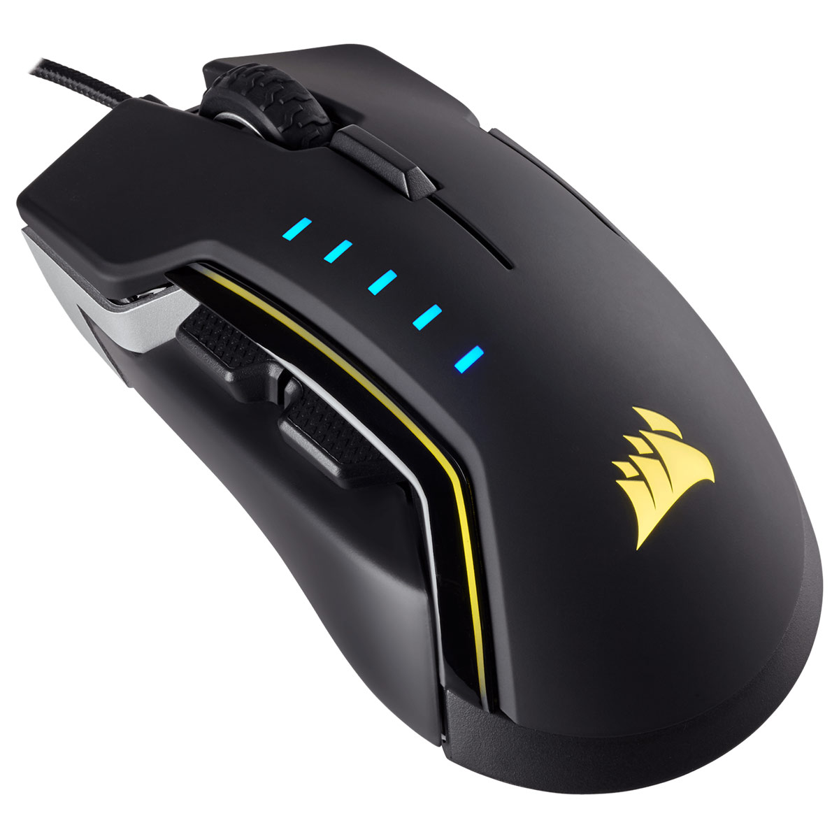 Corsair Gaming™ GLAIVE RGB Aluminum Black