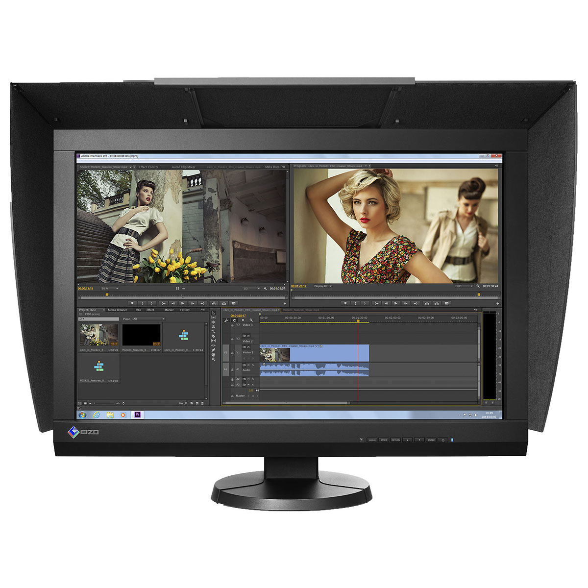 WQHD монитор Eizo ColorEdge CG277W