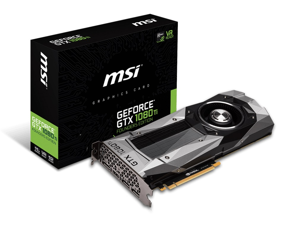 Видеокарта MSI GTX 1080 Ti Founders Edition