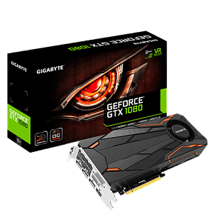 Видеокарта Gigabyte GeForce® GTX 1080 Turbo OC 8G
