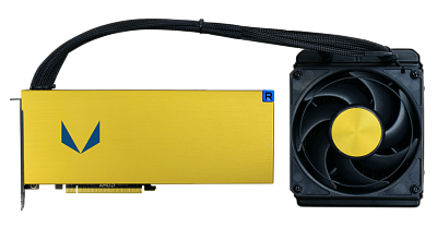 Видеокарта AMD (ATI) Radeon Vega Frontier Edition Liquid AMD PCI-E 16384Mb